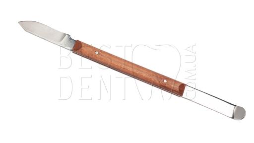 Нож-шпатель для воска (нерж.)