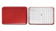 Стерилизатор для боров и эндо файлов (большой) 120отв, красный 0