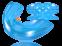 Преортодонтический трейнер T4А (мягкий, цвет: синий) 1