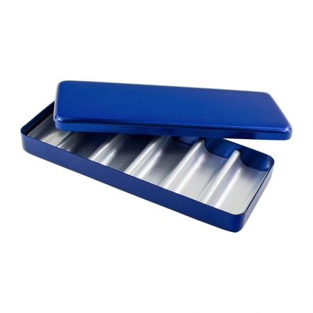 Стерилизатор для боров и эндо файлов (6 ячеек) синий