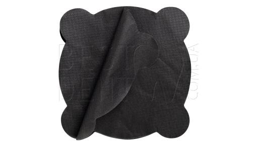 Салфетки для плевательницы черные, 50шт