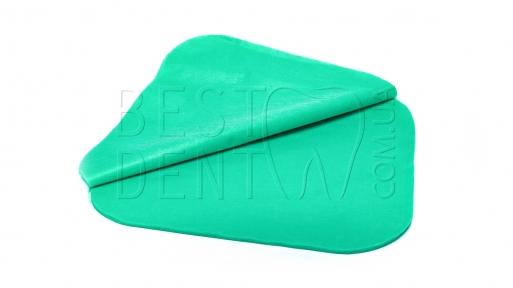 Салфетки для плевательницы зеленые, 50шт