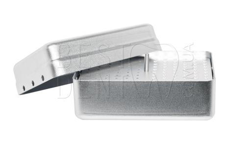 Стерилизатор для боров и эндо файлов (большой) 120отв, серый
