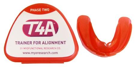 Преортодонтический трейнер T4А (жёсткий, цвет: красный)