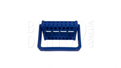 Подставка для боров на прямой нак. и фрез (16 шт),синяя