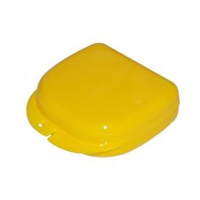 Коробка для ортодонтических и ортопедических констр. с отверстиями T-B-7 желтая
