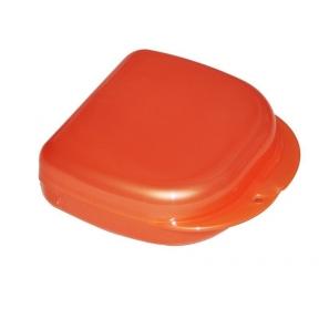 Коробка для ортодонтических и ортопедических констр. с отверстиями T-B-7  красная