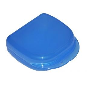 Коробка для ортодонтических и ортопедических констр. с отверстиями  T-B-7 синяя