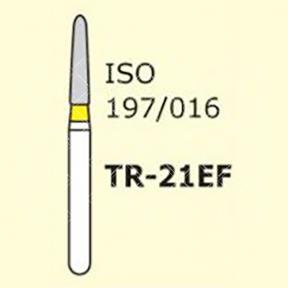 Алмазные боры для турбинного наконечника MANI TR-21EF (желтый  конусообразный, закругленный кончик)