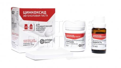 Цинкоксид-эвгеноловая паста (25г+10мл)