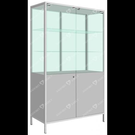 Шкаф медицинский с сейфом двухстворчатый ШМ-2с