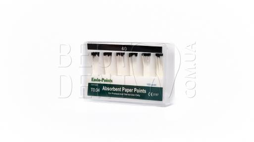 Штифты бумажные (пины) конусность 04 №40