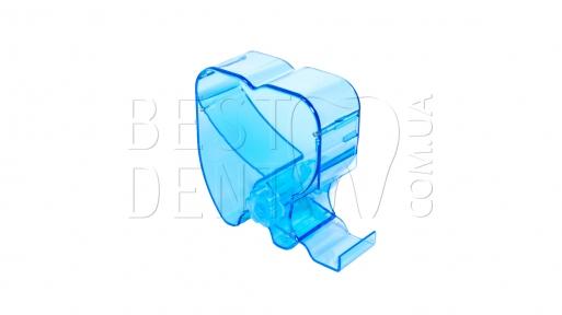 Диспенсер для валиков в форме зуба (синий)