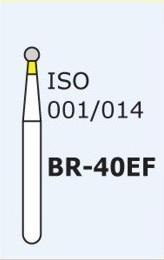Алмазные боры для турбинного наконечника MANI BR-40EF (желтый  шарообразный)