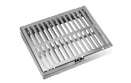 Контейнер для стерилизации  инструментов (кассетный) №B007
