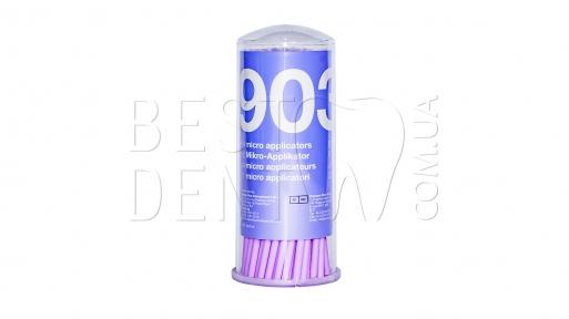 Аппликаторы (микробраши) Ultrafine Woodpecker (фиолетовые) 100шт