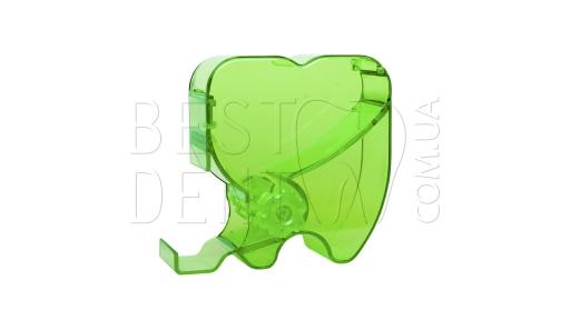 Диспенсер для валиков в форме зуба (зеленый)
