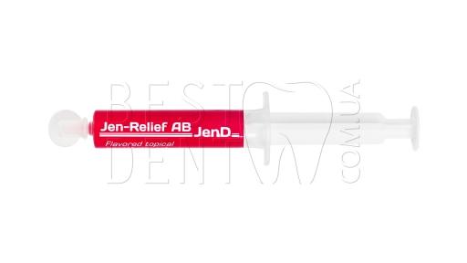 JEN-RELIEF аппликационный гель-анестетик (малина)