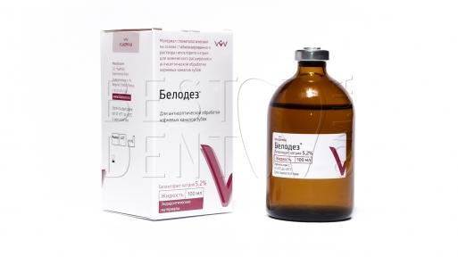 Белодез 5.2% (100мл), гипохлорит Na