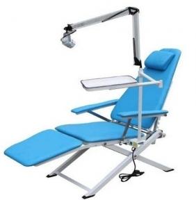 Портативное стоматологическое кресло Granum-109A с сумкой для транспортировки (светильником и лотком