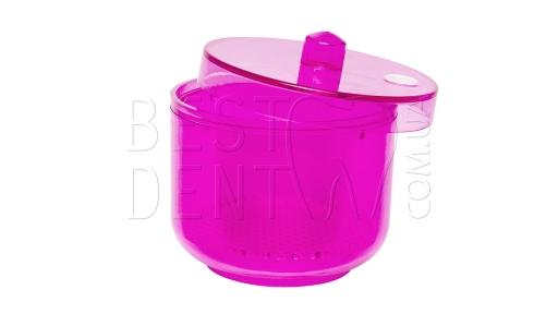 Емкость-контейнер для мелкого инструментария T-DBP-1, розовый