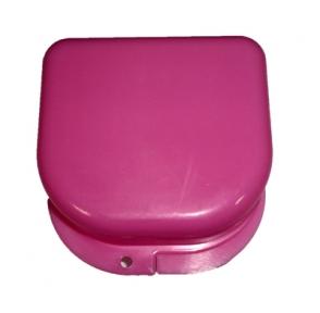 Коробка для ортодонтических и ортопедических констр. без отверстий розовый T-B-6